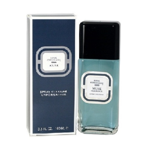 Royal Copenhagen Musk Cologne by Royal Copenhagen 3.3oz Cologne Spray for men