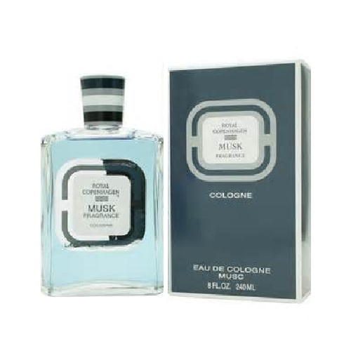 Royal Copenhagen Musk Cologne by Royal Copenhagen 8.0oz Eau De Cologne splash for Men