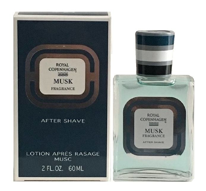 Royal Copenhagen Musk After Shave Lotion (liquid) by Royal Copenhagen 2.0oz for Men