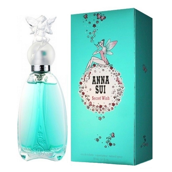 Secret Wish Perfume by Anna Sui 1.7oz Eau De Toilette Spray for women