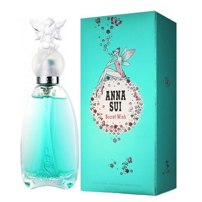 Secret Wish Perfume by Anna Sui 2.5oz Eau De Toilette Spray for women