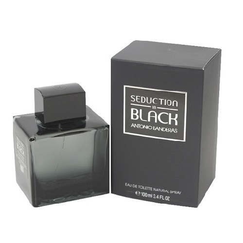 Seduction In Black Cologne by Antonio Banderas 3.4oz Eau De Toilette spray for Men