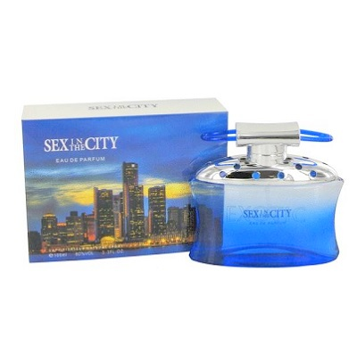 Sex in the City Exotic Perfume (Blue Box) by New Style 3.3oz Eau De Perfume Spray for women