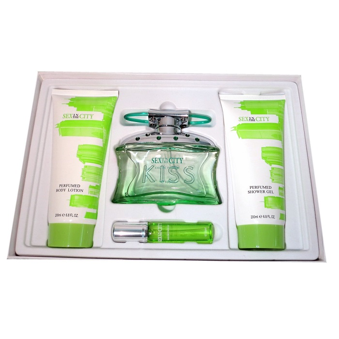 Sex in the City Kiss Perfume Gift Set for women