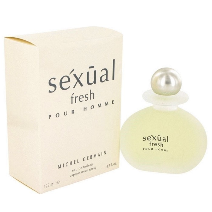 Sexual Fresh Cologne by Michel Germain 4.2oz Eau De Toilette spray for men