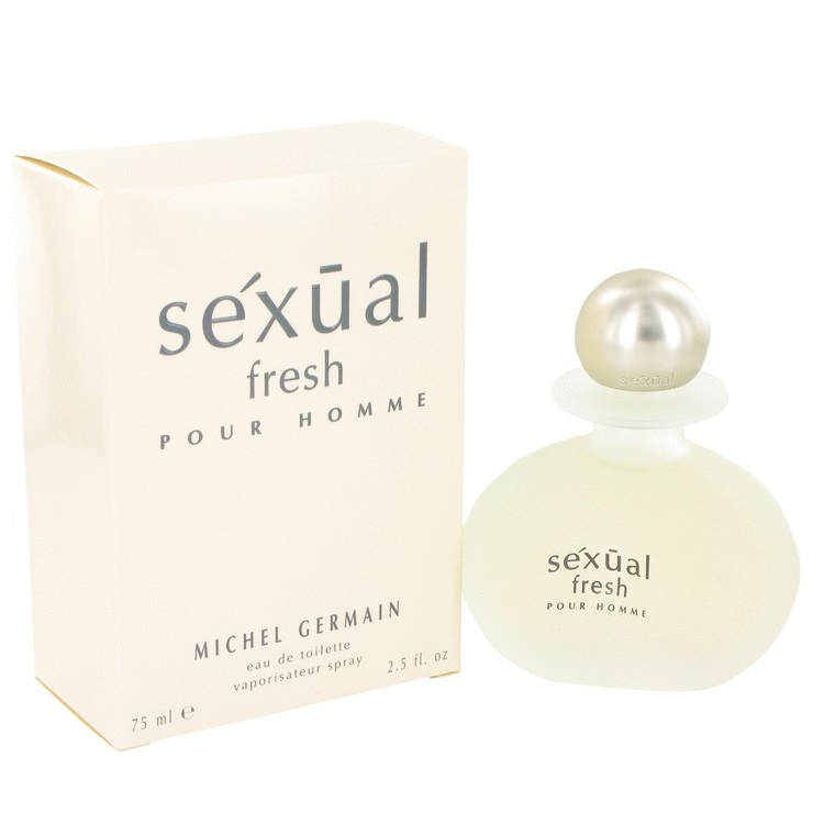 Sexual Fresh Cologne by Michel Germain 2.5oz Eau De Toilette spray for men