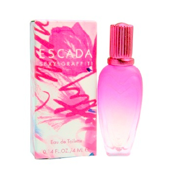 Sexy Graffiti Mini Perfume by Escada 0.14oz Eau De Toilette for women