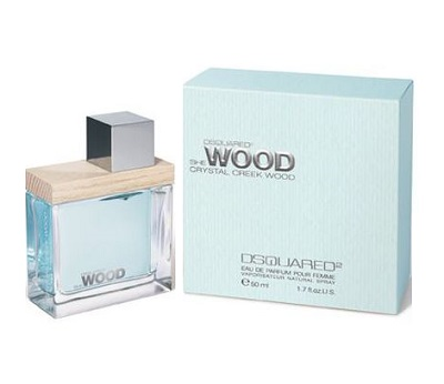 She Wood Crystal Creek Perfume by Dsquared2 1.7oz Eau De Parfum spray for Women