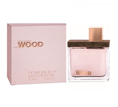 She Wood Perfume by Dsquared2 1.7oz Eau De Parfum spray for Women