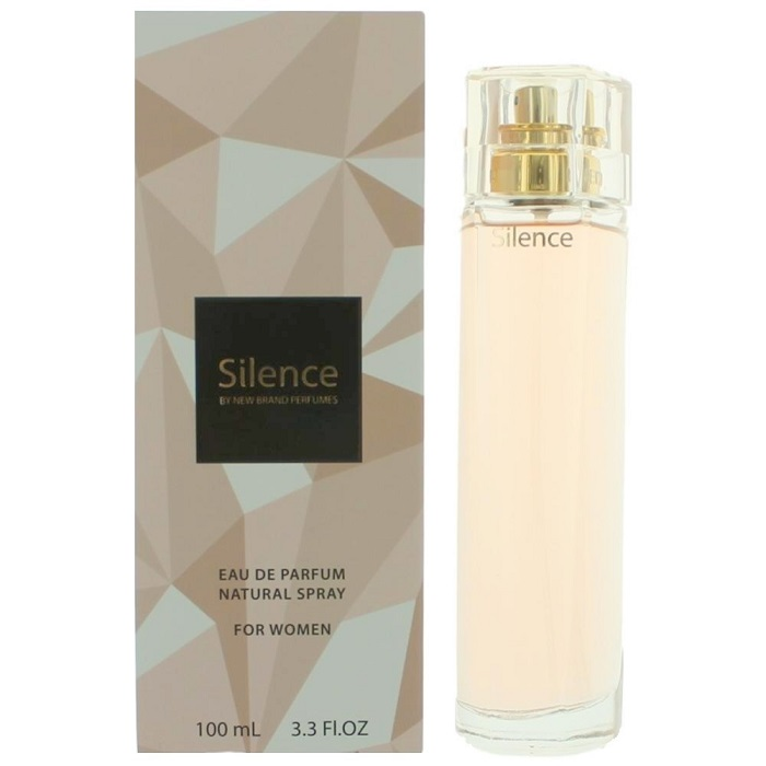 Silence Perfume by New Brand 3.3oz Eau De Parfum Spray for women