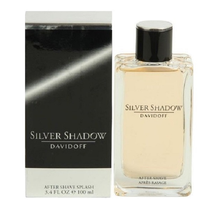 Silver Shadow After Shave Lotion (liquid) by Davidoff 3.4oz for men