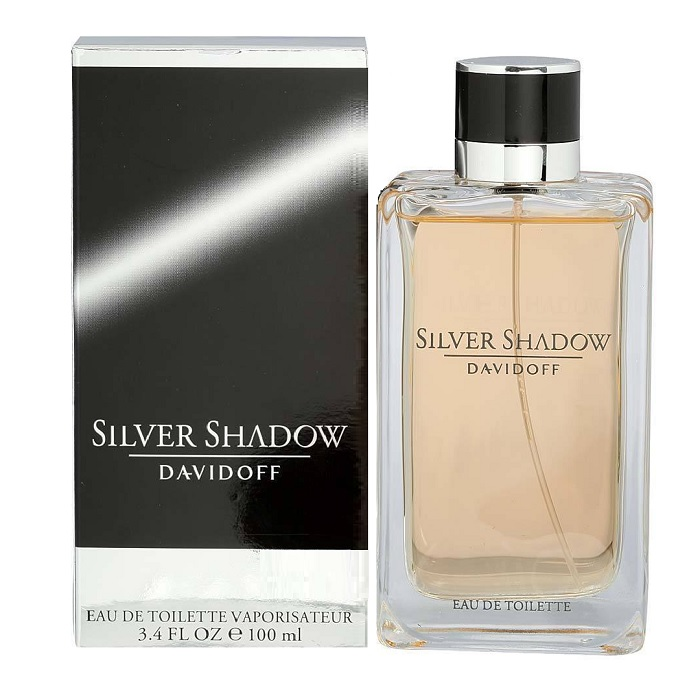 Silver Shadow Cologne by Davidoff 3.4oz Eau De Toilette spray for Men