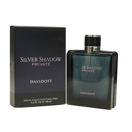 Silver Shadow Private Cologne by Davidoff 1.7oz Eau De Toilette spray for Men