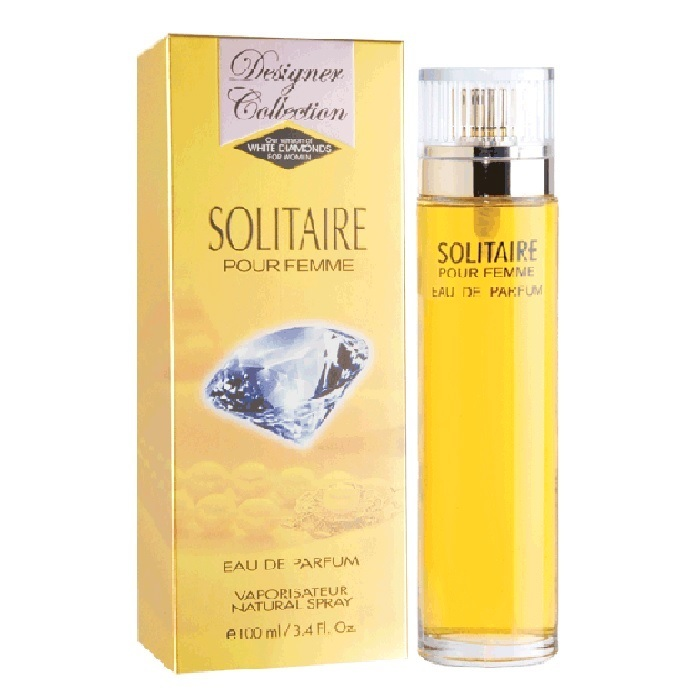 Solitaire Perfume by Designer Collection3.4oz Eau De Parfum spray for women