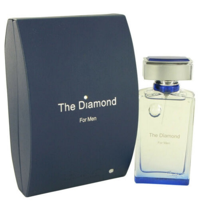 The Diamond Cologne by Cindy Crawford 3.4oz Eau De Parfum Spray for men