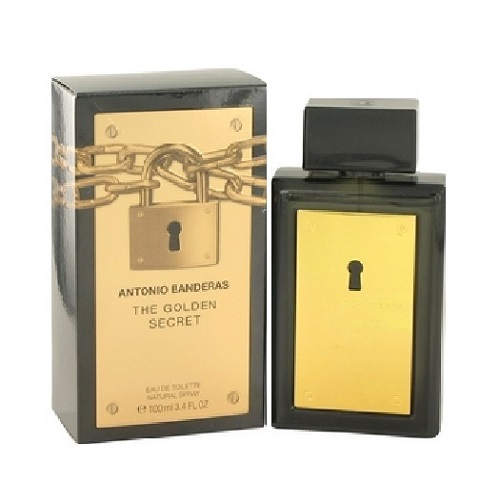 The Golden Secret Cologne by Antonio Banderas 3.4oz Eau De Toilette spray for Men