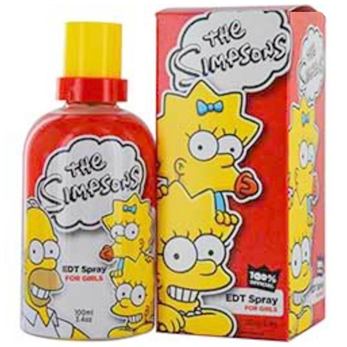 The Simpsons Perfume by Air Val International 3.4oz Eau De Toilette Spray for women