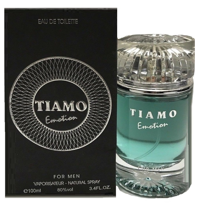 Tiamo Emotion Cologne by Parfum Blaze 3.4oz Eau De Toilette Spray for men