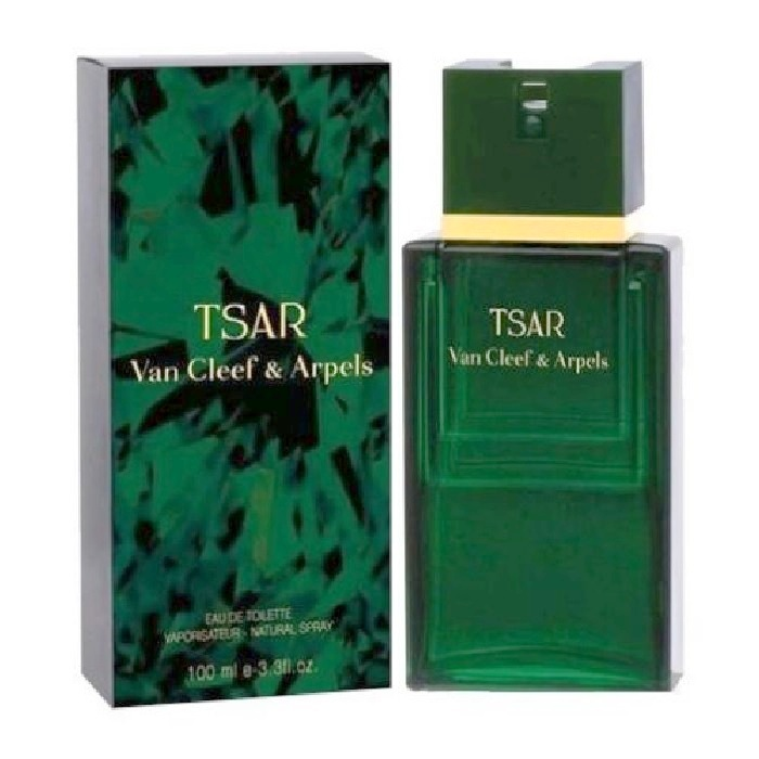 Tsar Cologne by Van Cleef 3.4oz Eau De Toilette spray for Men