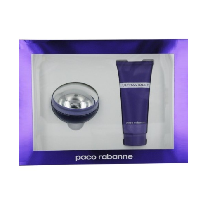 Ultraviolet Perfume Set for Women - 2.7oz Eau De Parfum spray, & 3.4oz Body Lotion