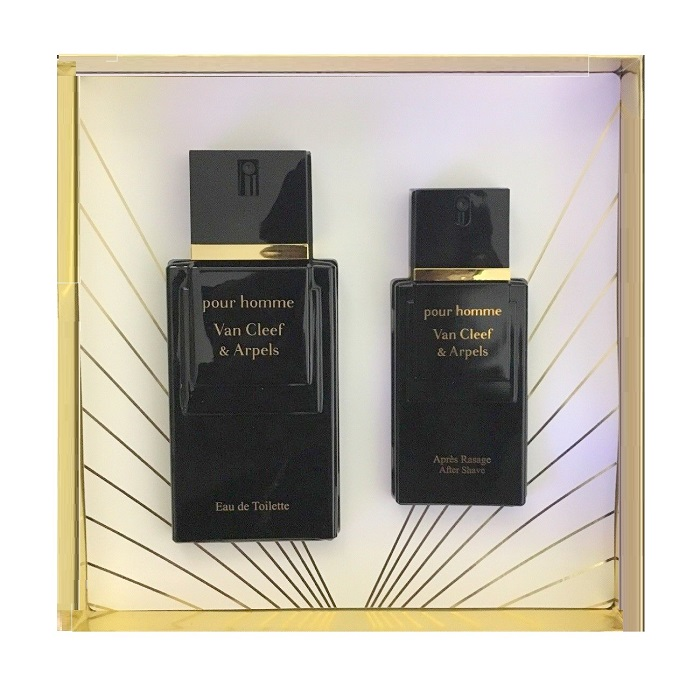 Van Cleef Men Gift Set - 3.3oz Eau De Toilette spray & 1.6oz After Shave Lotion