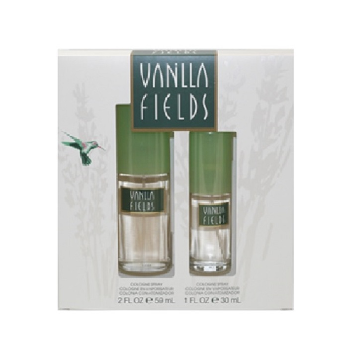 Vanilla Fields Perfume Set for Women - 2.0oz Cologne spray, & 1.0oz Cologne spray