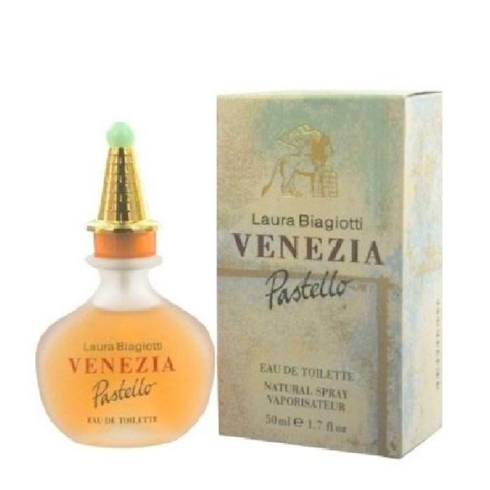 Venezia Pastello Perfume by Laura Biagiotti 1.7oz Eau De Toilette spray for women