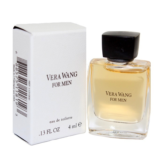 Vera Wang Mini Cologne by Vera Wang 0.13 oz / 4 ml Eau De Toilette for Men