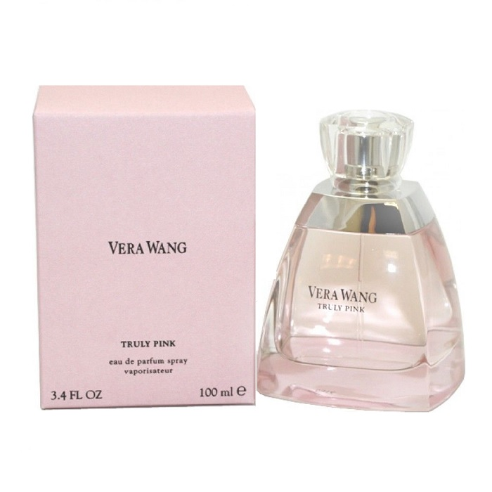 Vera Wang Truly Pink Perfume by Vera Wang 3.4oz Eau De Parfum spray for women