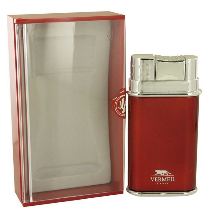 Vermeil Red Cologne by Jean Louis Vermeil 3.4oz Eau De Toilette spray for men