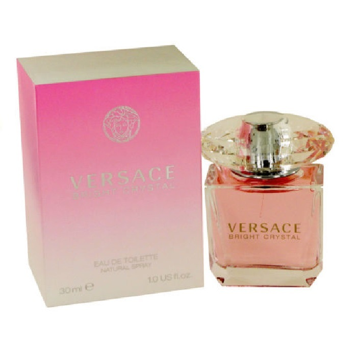 Versace Bright Crystal Perfume by Versace 1.0oz Eau De Toilette spray for Women