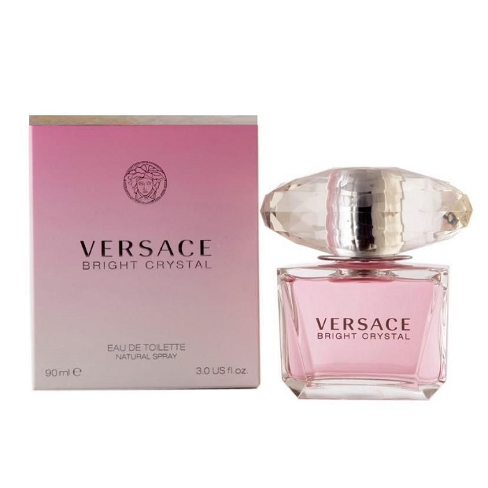 Versace Bright Crystal Perfume by Versace 3.0oz Eau De Toilette spray for Women