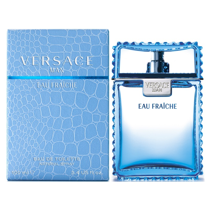 Versace Man Eau Fraiche Cologne by Versace 3.4oz Eau De toilette spray for Men