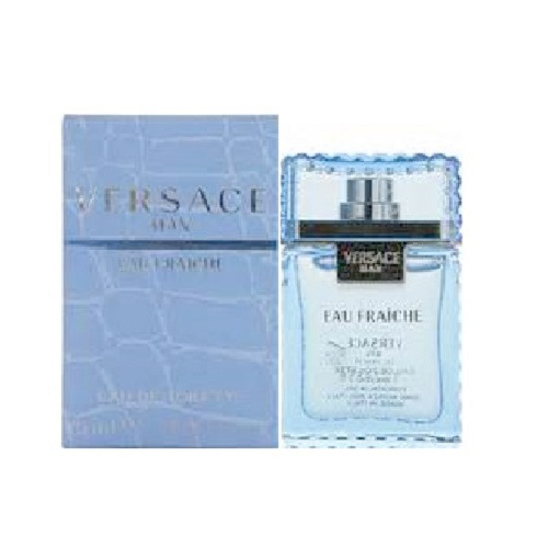Versace Man Eau Fraiche Mini Cologne by Versace 0.17oz Eau De toilette for Men
