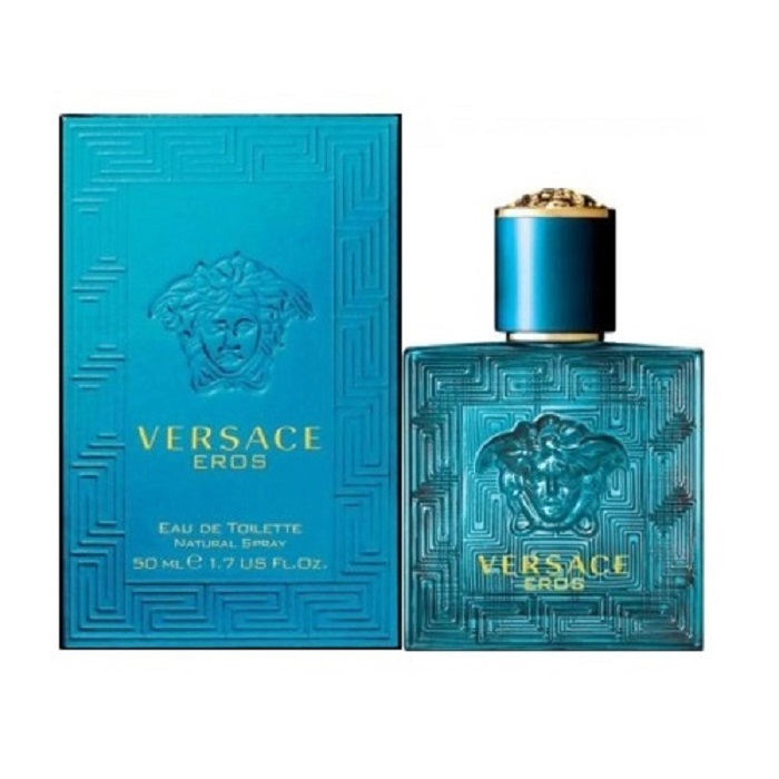 Versace Eros Cologne by Versace 1.7oz Eau De Toilette Spray for men