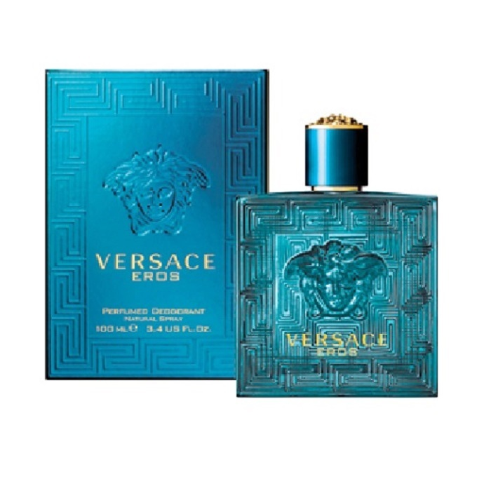 Versace Eros Cologne by Versace 3.4oz Eau De Toilette Spray for men