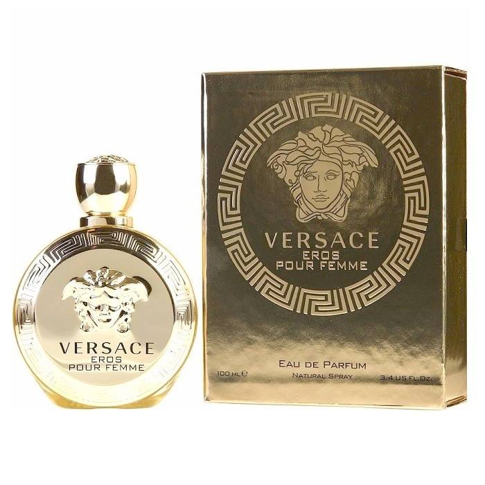 Versace Eros Perfume by Versace 3.4oz Eau De Parfum spray for women