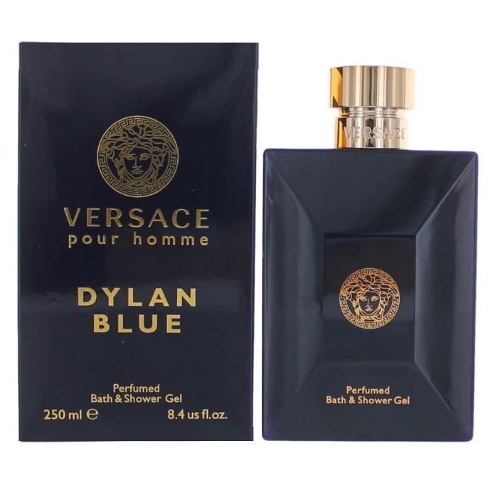 Versace Pour Homme Dylan Blue Bath & Shower Gel by Versace 8.4oz for men