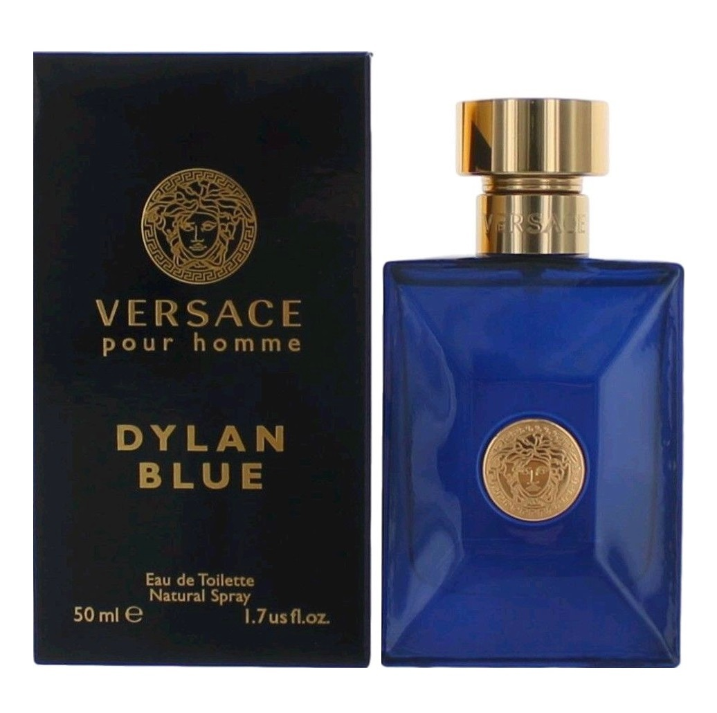 Versace Pour Homme Dylan Blue Cologne by Versace 1.7oz Eau De Toilette spray for men