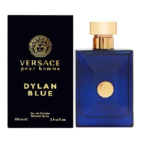 Versace Pour Homme Dylan Blue Cologne by Versace 3.4oz Eau De Toilette spray for men