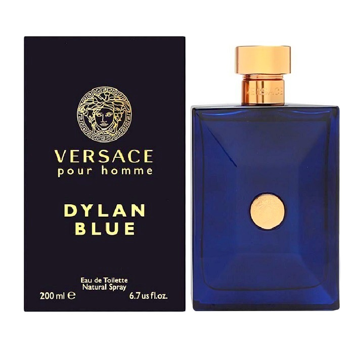 Versace Pour Homme Dylan Blue Cologne by Versace 6.7oz Eau De Toilette spray for men