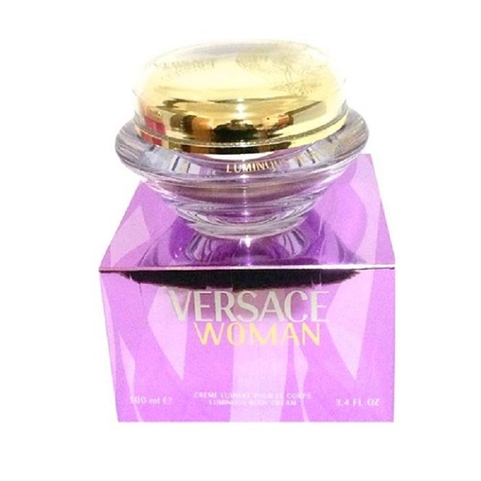 Versace Woman Body Cream by Versace 3.4oz for women
