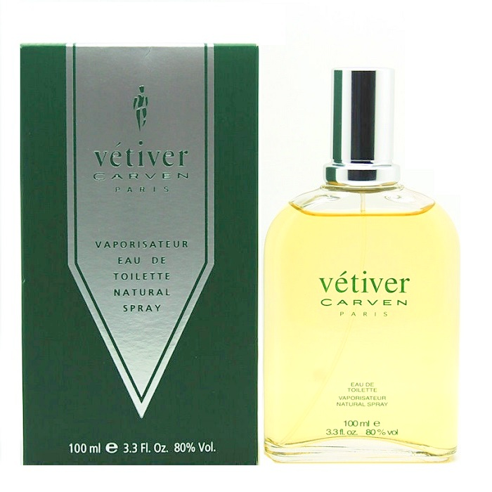 Vetiver Carven Cologne by Carven 3.3oz Eau De Toilette spray for Men