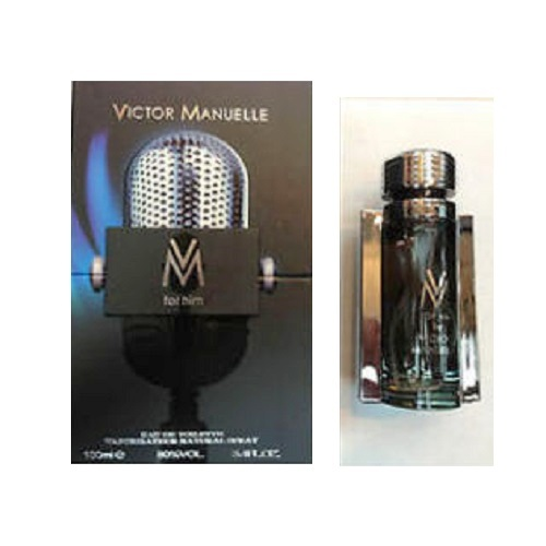 Victor Manuelle Cologne by Victor Manuelle 3.4oz Eau de Toilette spray for Men