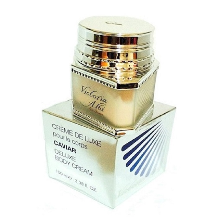 Victoria Albi De Suisse Caviar Deluxe Body Cream by Victoria Albi 3.38oz for Women