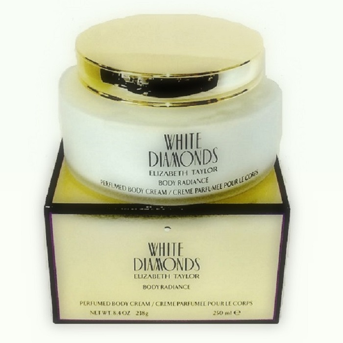 White Diamonds Body Cream by Elizabeth Taylor 8.4oz for Women