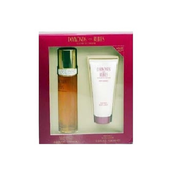 White Diamonds Perfume Gift Set - 3.3oz Eau De Toilette spray, & 3.3oz Body Lotion