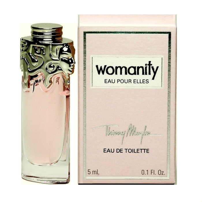Womanity Mini Perfume by Thierry Mugler 0.17oz / 5ml Eau De Toilette for Women