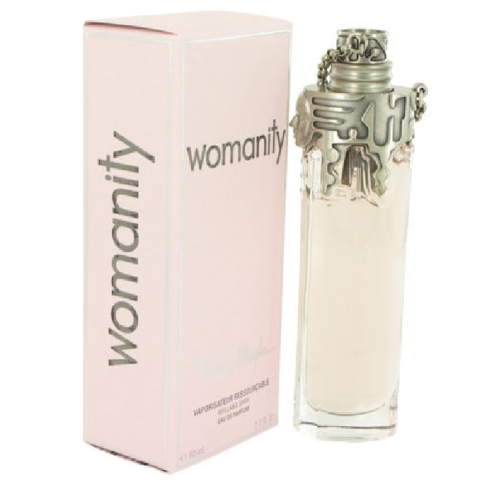 Womanity Perfume by Thierry Mugler 2.7oz Eau De Parfum spray Refillable for women