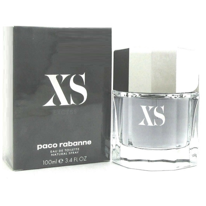 XS Paco Rabanne Cologne by Paco Rabanne 3.4oz Eau De Toilette spray for men